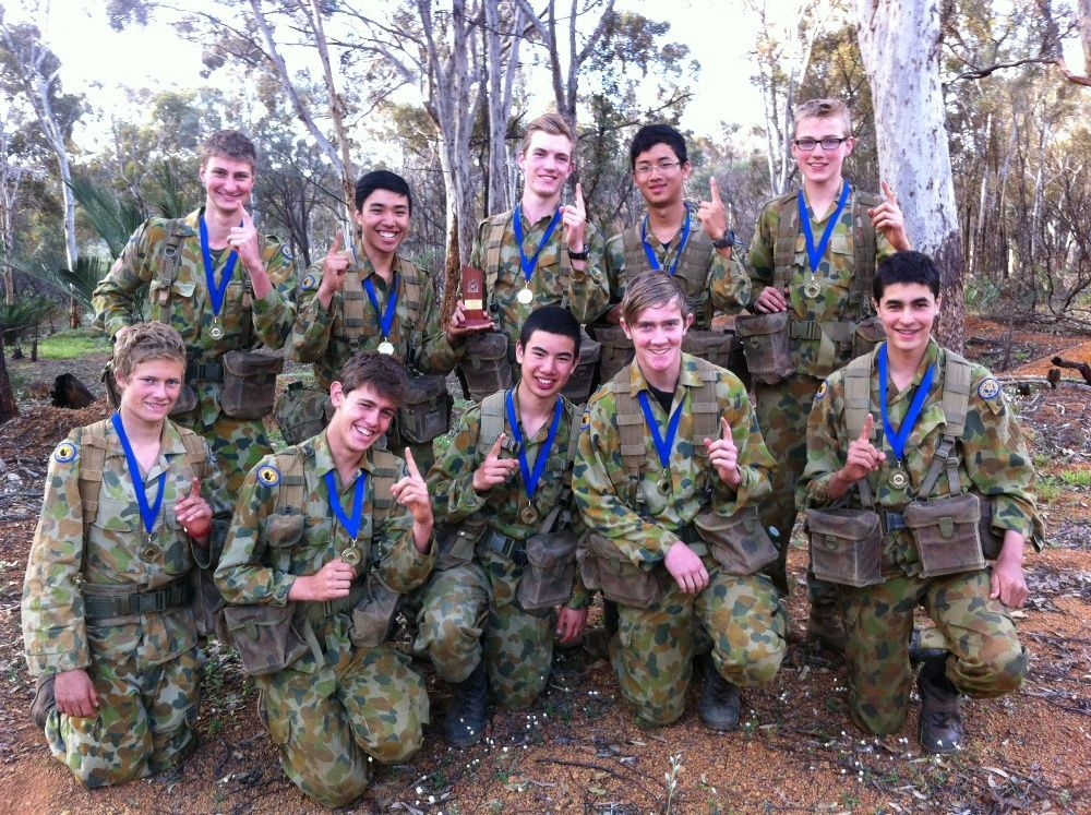 Cadets Perform And Lead Strongly Christ Church Grammar