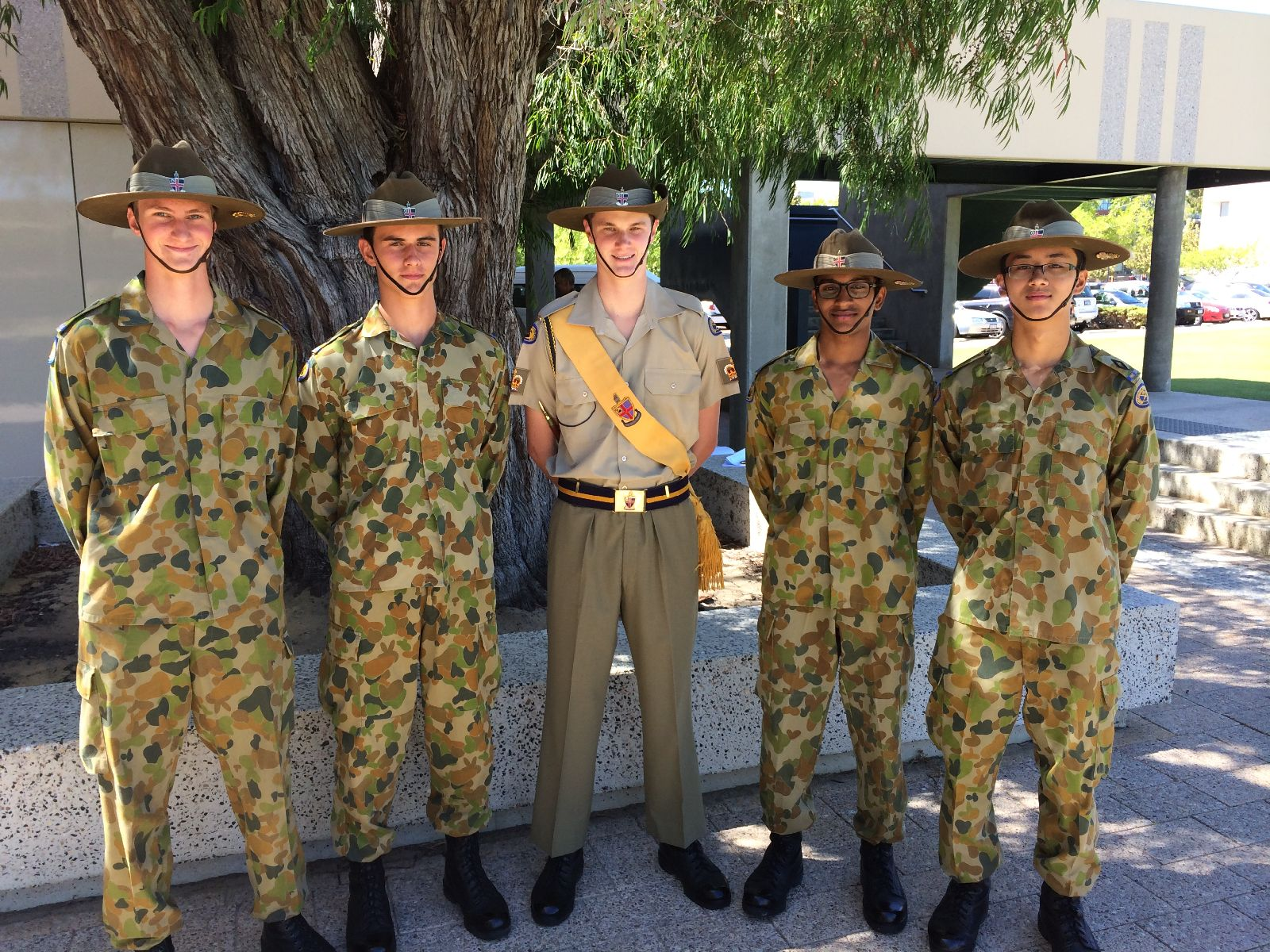Senior Cadets Excel On Leadership Courses Ccgs Christ