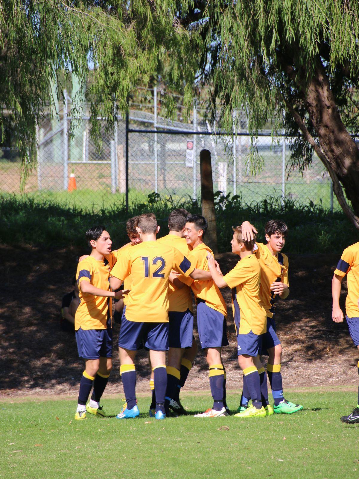 Positive Process Seals Soccer Season Victory Ccgs Christ