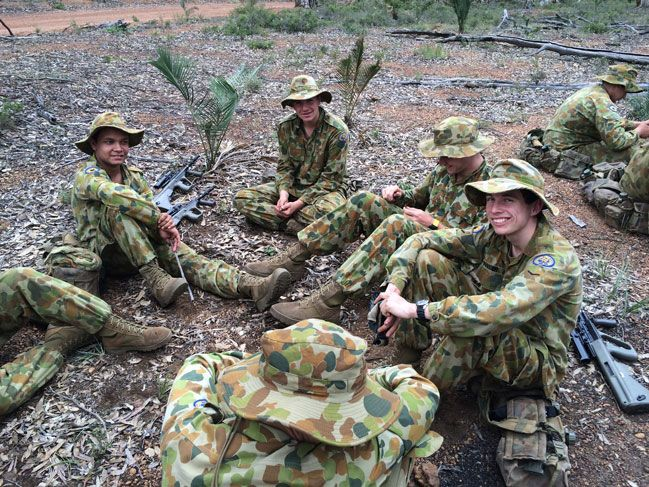 Field Exercises Challenge Cadets Christ Church Grammar