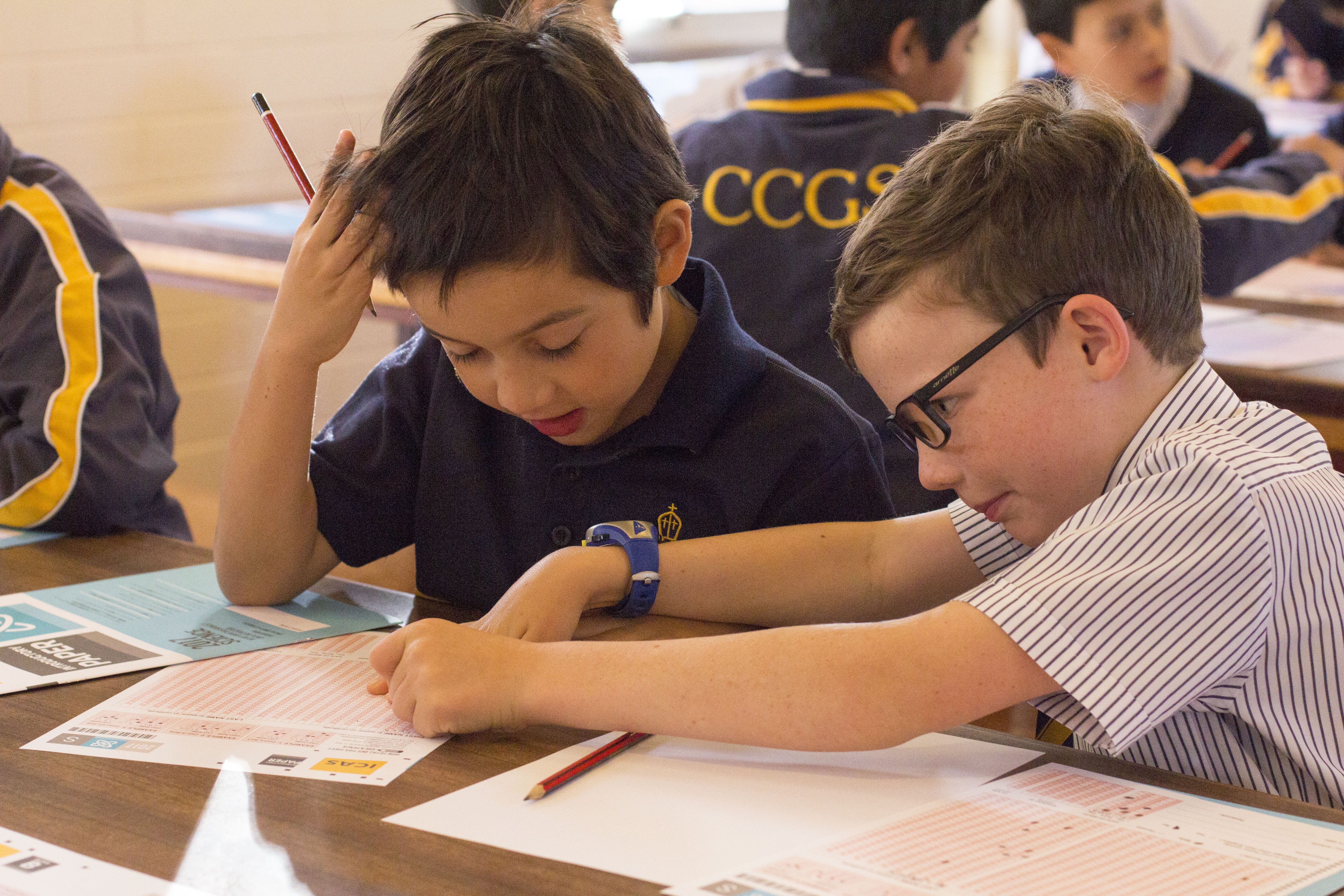 Problem-solving skills shine at ICAS - CCGS Christ Church Grammar School