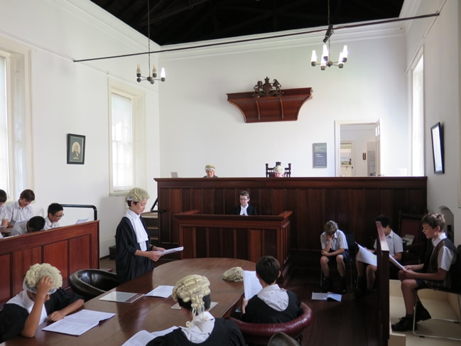 court experience