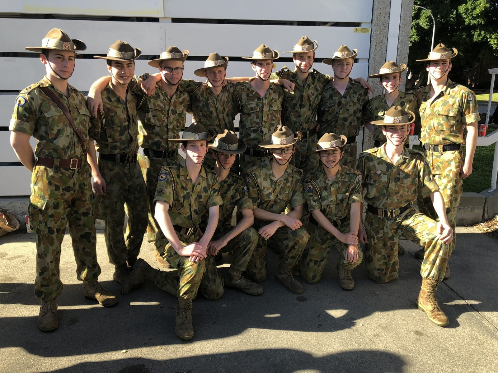 Cadets participate in Senior Leaders Course - CCGS Christ